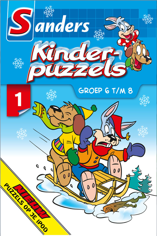Screenshot Kinderpuzzels Winter 2012 (versie voor iPod)